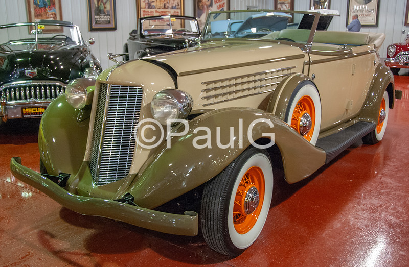 1935 Auburn Model 851 4-Door Phaeton Sedan