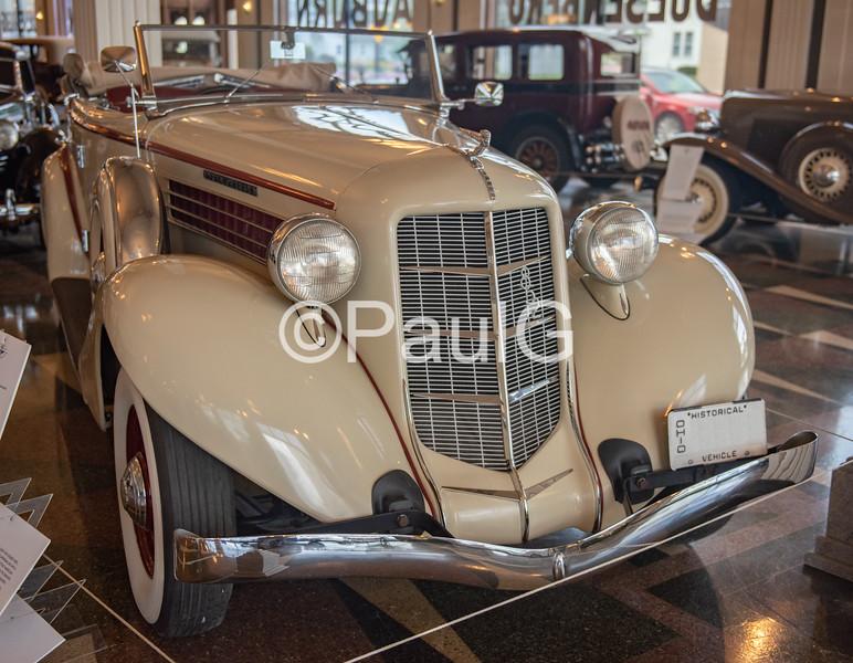1936 Auburn Model 852 4-Door Supercharged Phaeton Sedan