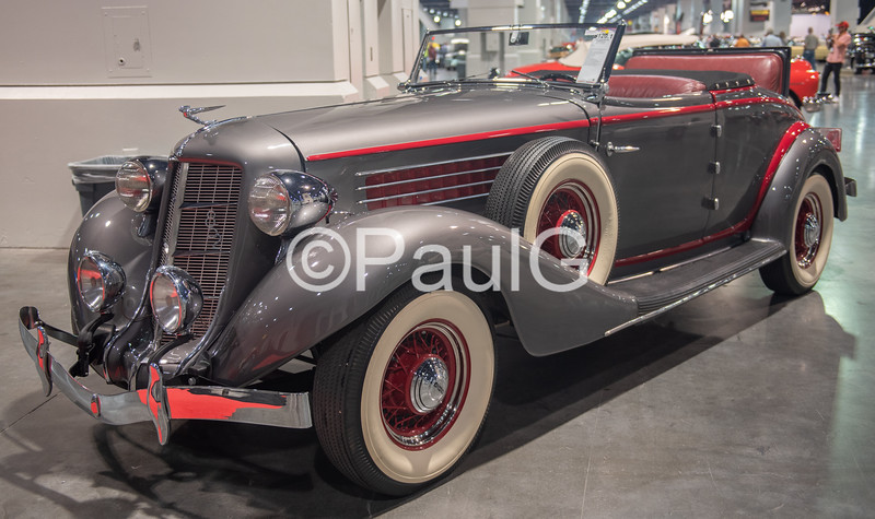 1936 Auburn Model 852 2-Door Cabriolet