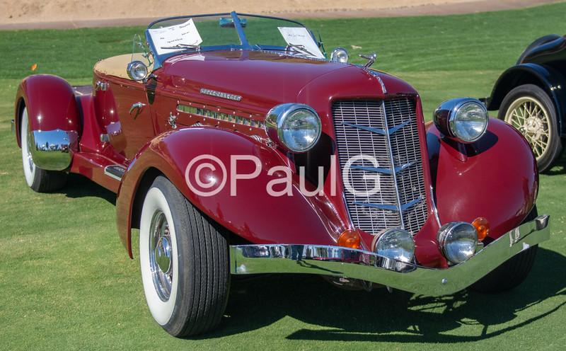 1936 Auburn Model 852 2-Door Supercharged Speedster Recreation