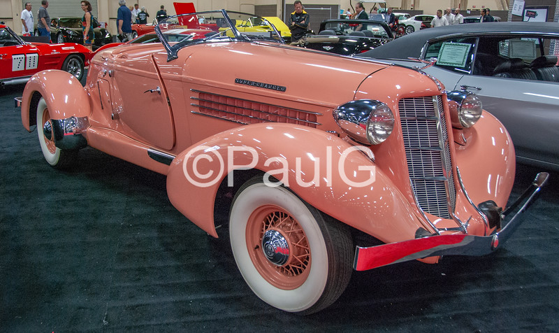 1936 Auburn Model 852 2-Door Supercharged Speedster