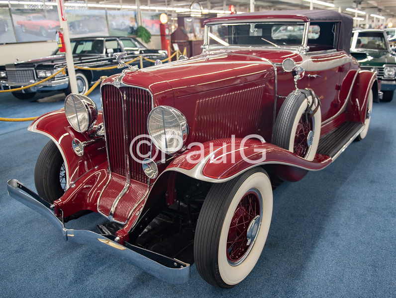 1931 Auburn Model 8-98 2-Door Cabriolet