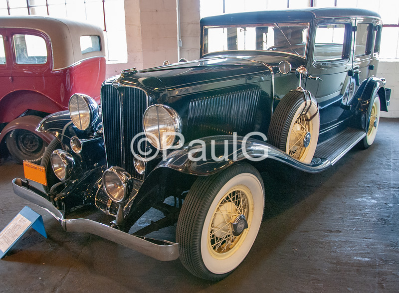 1931 Auburn Model 8-98A 4-Door Phaeton Sedan