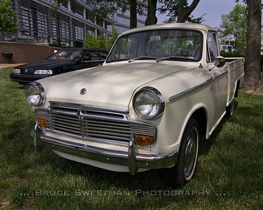 An early 60s Datsun 1200 pickup.