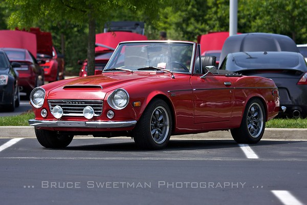 A lovely Datsun 2000 reminded us what came before the Z.