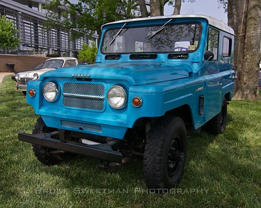 1967 NIssan Patrol. Nissan's first utility vehicle was available in the US from 1962-1969.