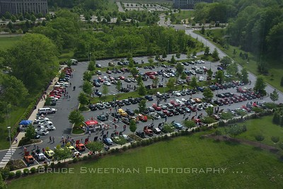 The Middile Tennessee Zcar club held the 2012 Zattack at Nissan HQ