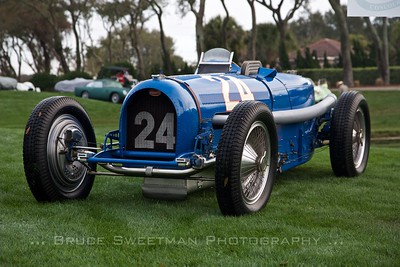 1936 Bugatti 56/50B Offset-seat Grand Prix Car