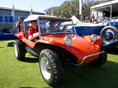 Bruce Meyers celebrates the Meyers Manx's 50th Birthday.
