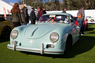 A daily-driver Porsche 356A showed up for Saturday Cars & Coffee.