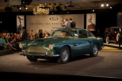 The RM Auction at the Ritz Carlton. This 1960 Aston Martin DB4 sold for $462,000