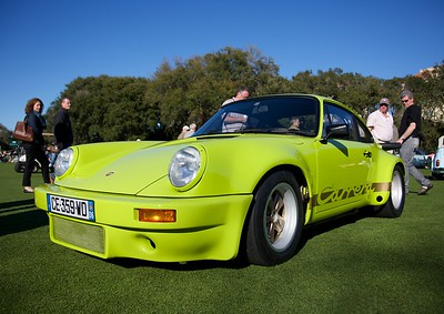 This 1974 Porsche RS 3.0 drew a lot of attention and won an Amelia Award.