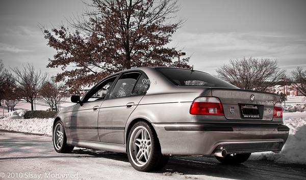 BMW 540i Sports.
