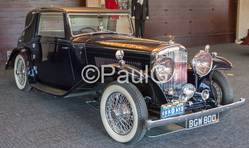 1934 Bentley Sedanca Coupe