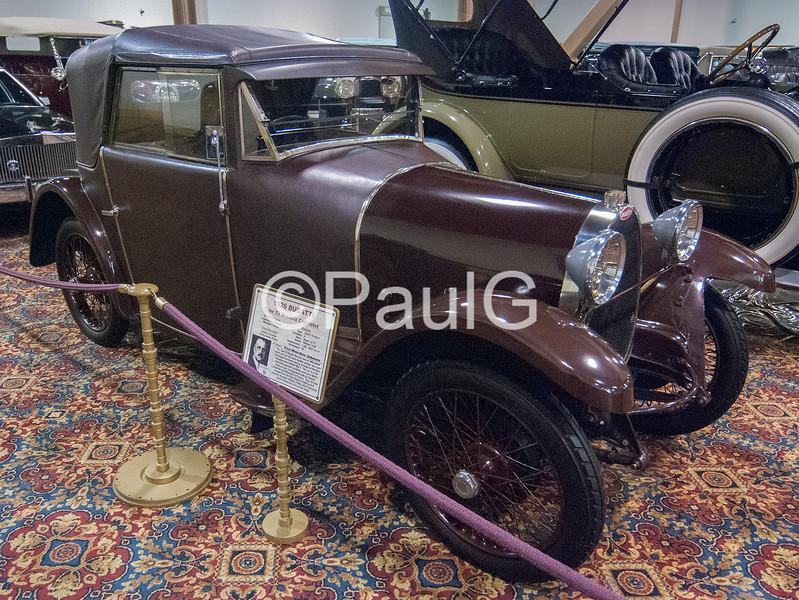 1926 Bugatti Type 23 Brescia Cabriolet