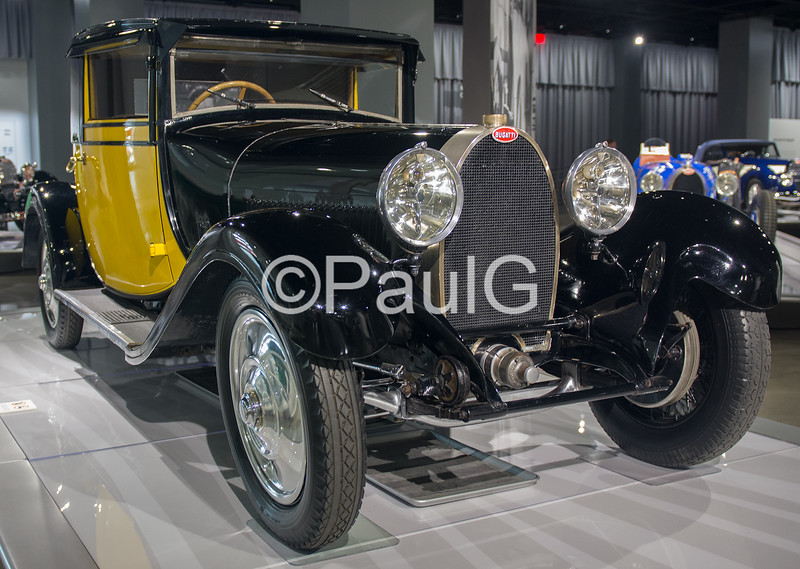 1929 Bugatti Type 44 Fiacre