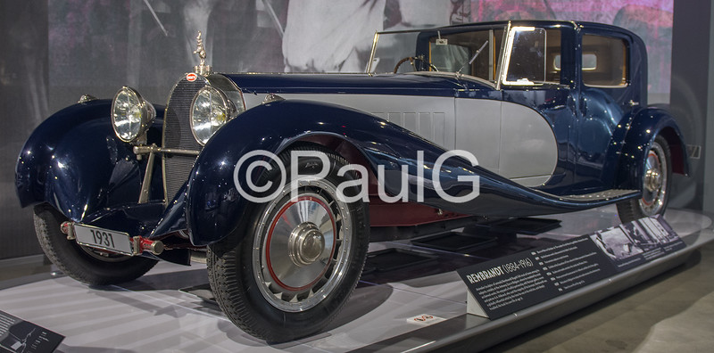 1932 Bugatti Type 41 Royale by Binder