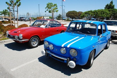 At the BMW Bay Area 02 Show we always have guests:  Glas GT and a Renault Gordini