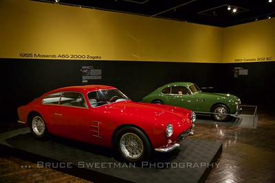 1955 Maserati A6G 2000 Zagato, 1959 Cisitalia 202 SC
