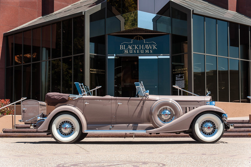1933 Packard dual cowl Phaeton