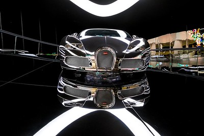 Bugatti Veyron 16.4 on display at Autostadt, Wolfsburg, Germany.