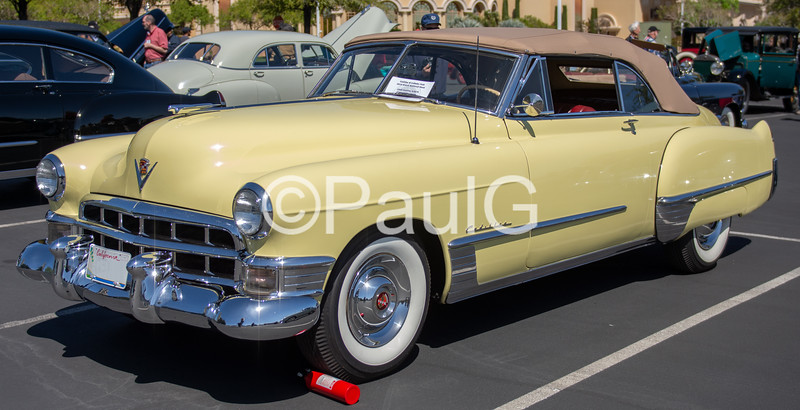 1949 Cadillac Series 62 2-Door Convertible Coupe