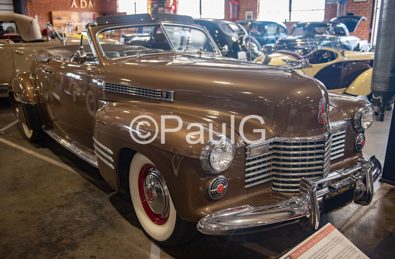 1941 Cadillac Series 62 2-Door Convertible Coupe