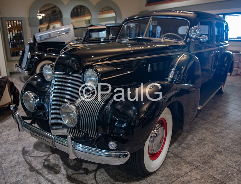 1939 Cadillac Series 75 4-Door Business Touring Imperial