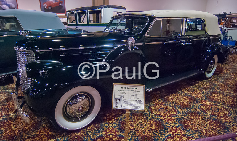 1938 Cadillac Series 90 4-Door Convertible Sedan