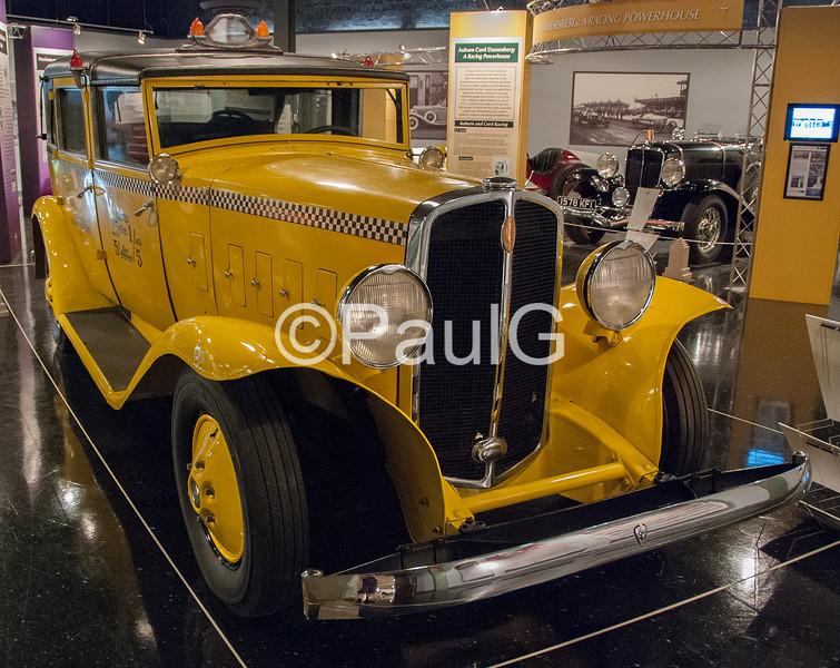 1933 Checker Model T