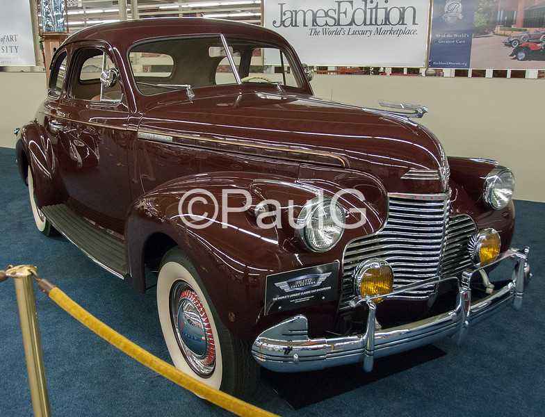 1940 Chevrolet Master Deluxe Coupe
