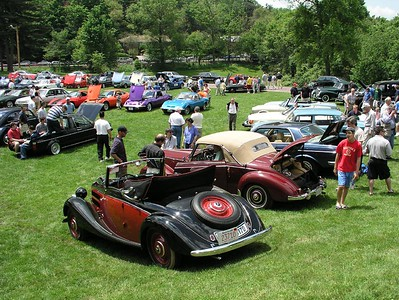 Larz Anderson Museum of Transport - 2003 - German Car Day