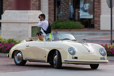 1957 Porsche at Cars and Coffee Houston, Texas Vintage Park - www.KeithHicksPhotography.com