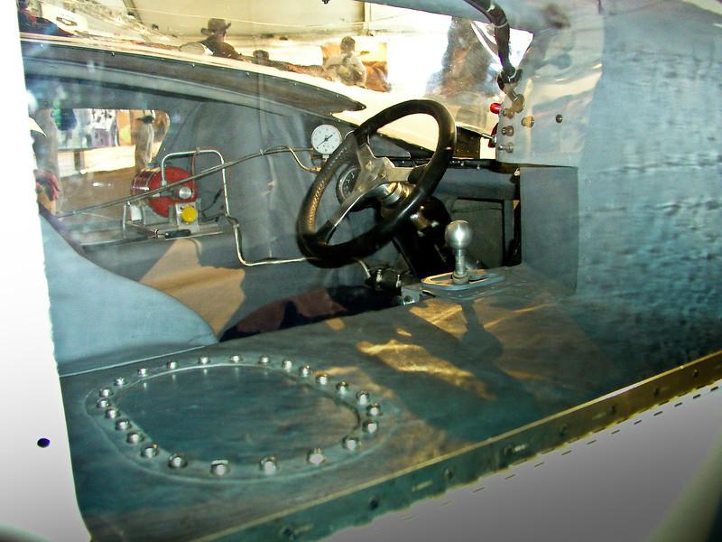 Chaparral 2H cockpit