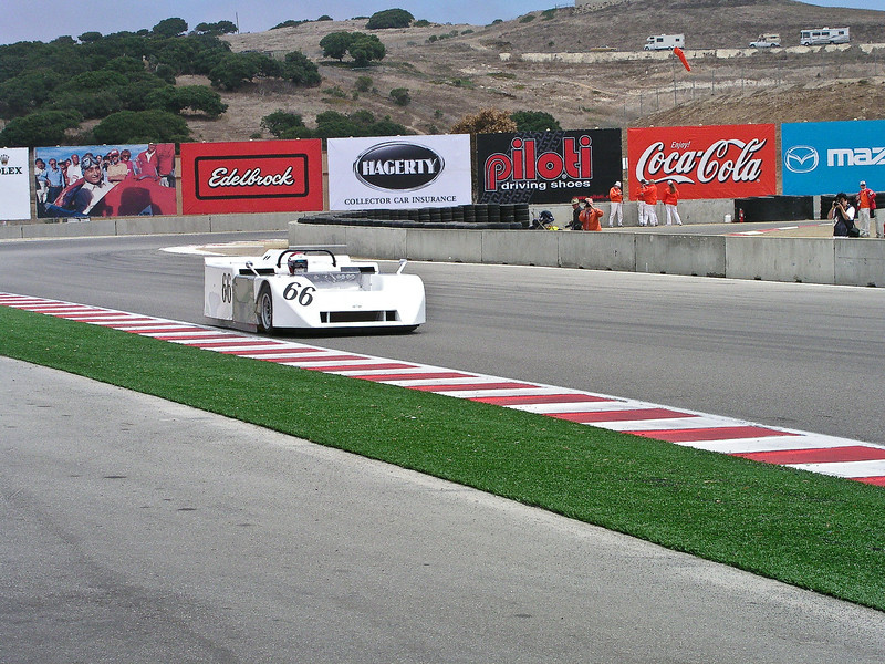Chaparral 2J driven by Vic Elford