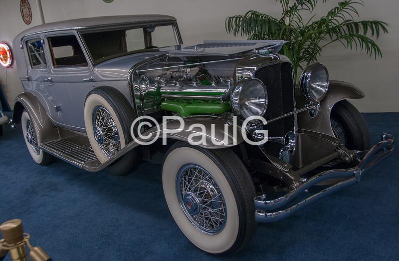 1931 Duesenberg Model J Holbrook Sedan