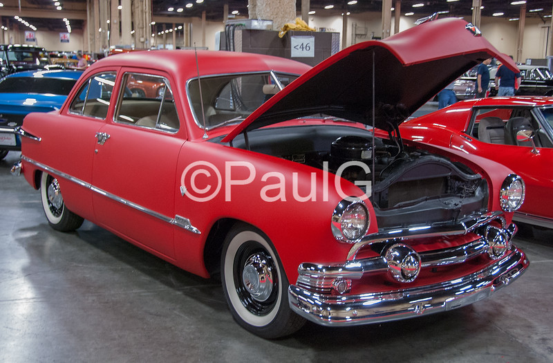 1951 Ford Custom Deluxe 2Dr Sedan