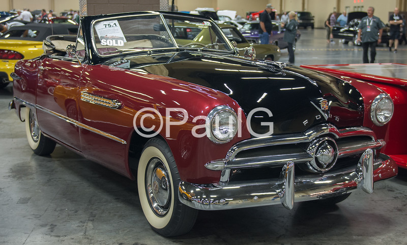 1949 Ford Custom Deluxe Convertible
