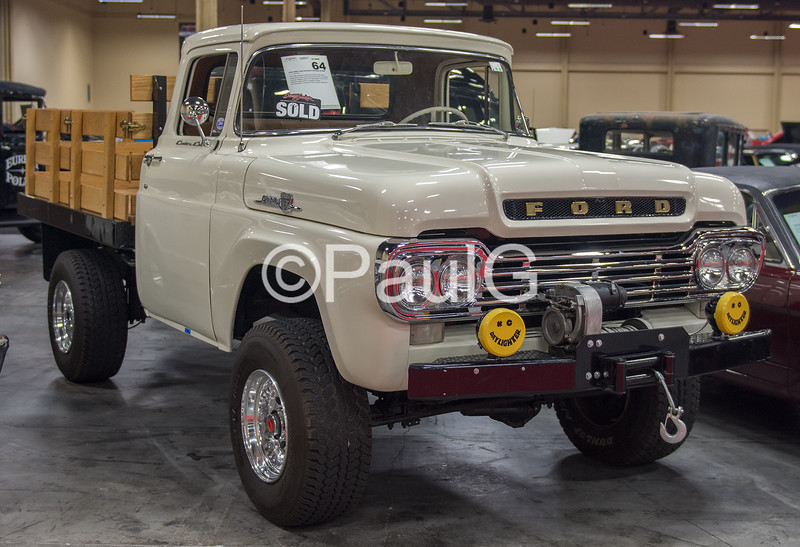 1959 Ford F-250 Stake Bed Pickup