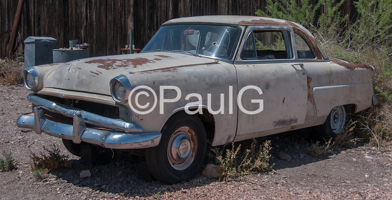 1953 Ford Mainline Business Coupe