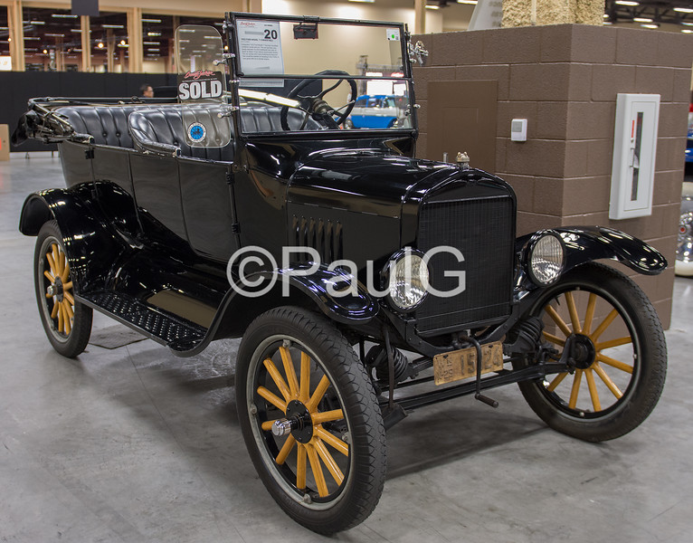 1925 Ford Model T Convertible