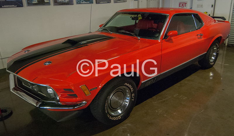1970 Ford Mustang Fastback Mach I