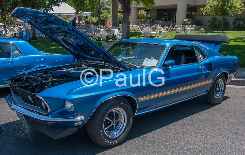 1969 Ford Mustang Fastback Mach I