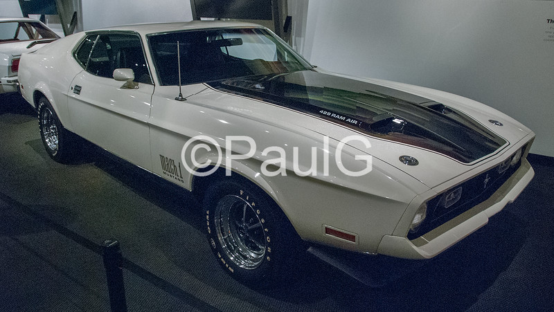 1971 Ford Mustang Fastback Mach I