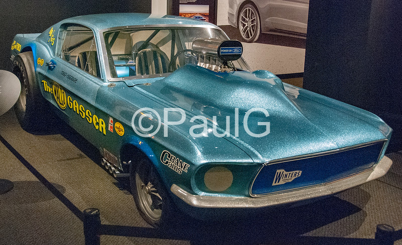 1967 Ford Mustang MALCO Gasser