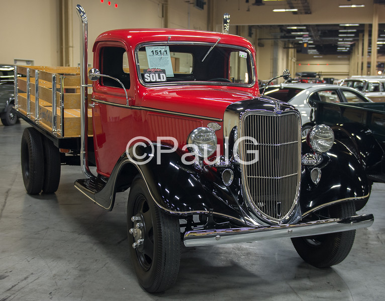1936 Ford 1.5 Ton Stake Bed Truck