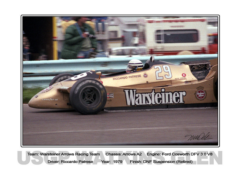 019 Patrese Warsteiner Arrows 79