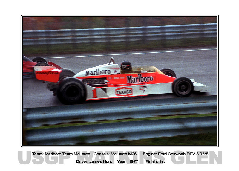 063 Hunt marlboro McLaren 77