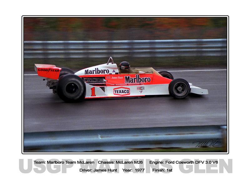 081 Hunt McLaren 77