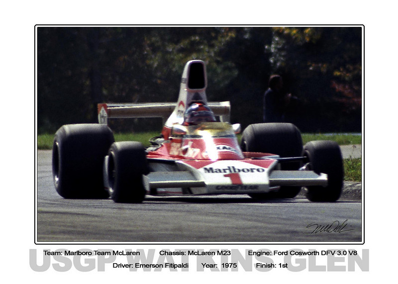 100 Fittipaldi Mclaren Marlboro 75